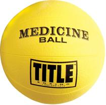Title Rubber Medicine Ball Medium